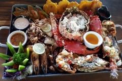 Bandeja Especial mixta de mariscos 1