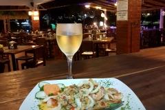 Filete de Corvina con Mariscos