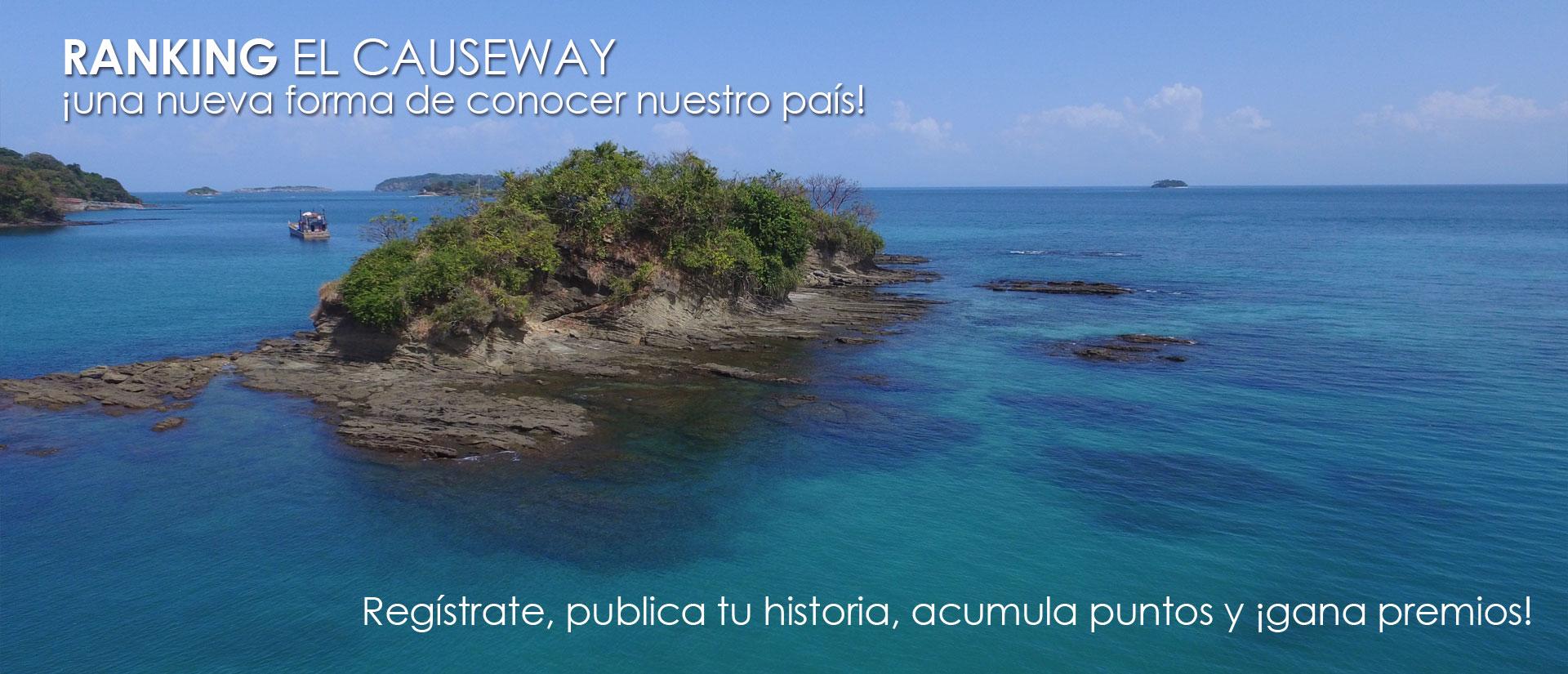 Publica tu historia y gana premios. Regístrate en el Ranking El Causeway.